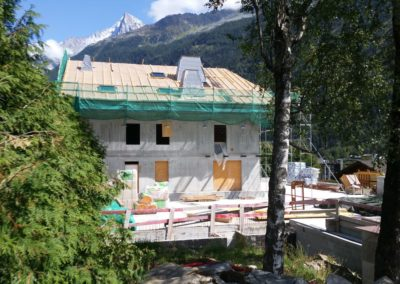 RÉNOVATION FERME – CHAMONIX